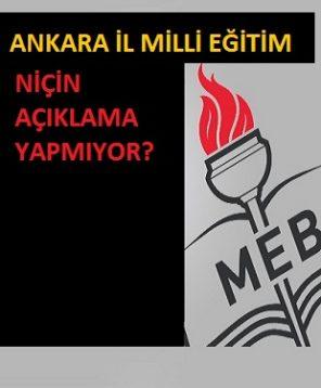 Ankara İl Milli Eğitim Müdürü İstifa Etmeyi Düşünüyor Mu?